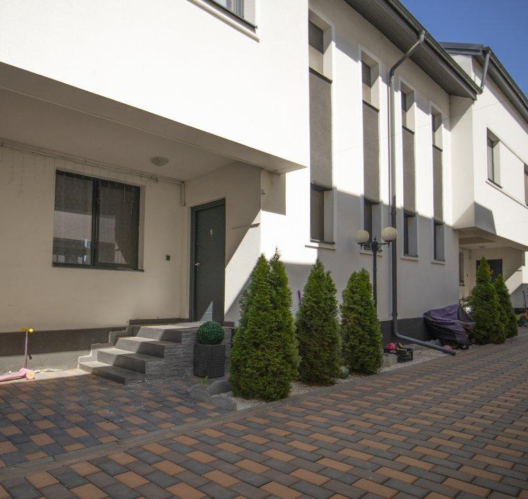 Vila insiruita Chiajna - intrarea Nicolae Iorga