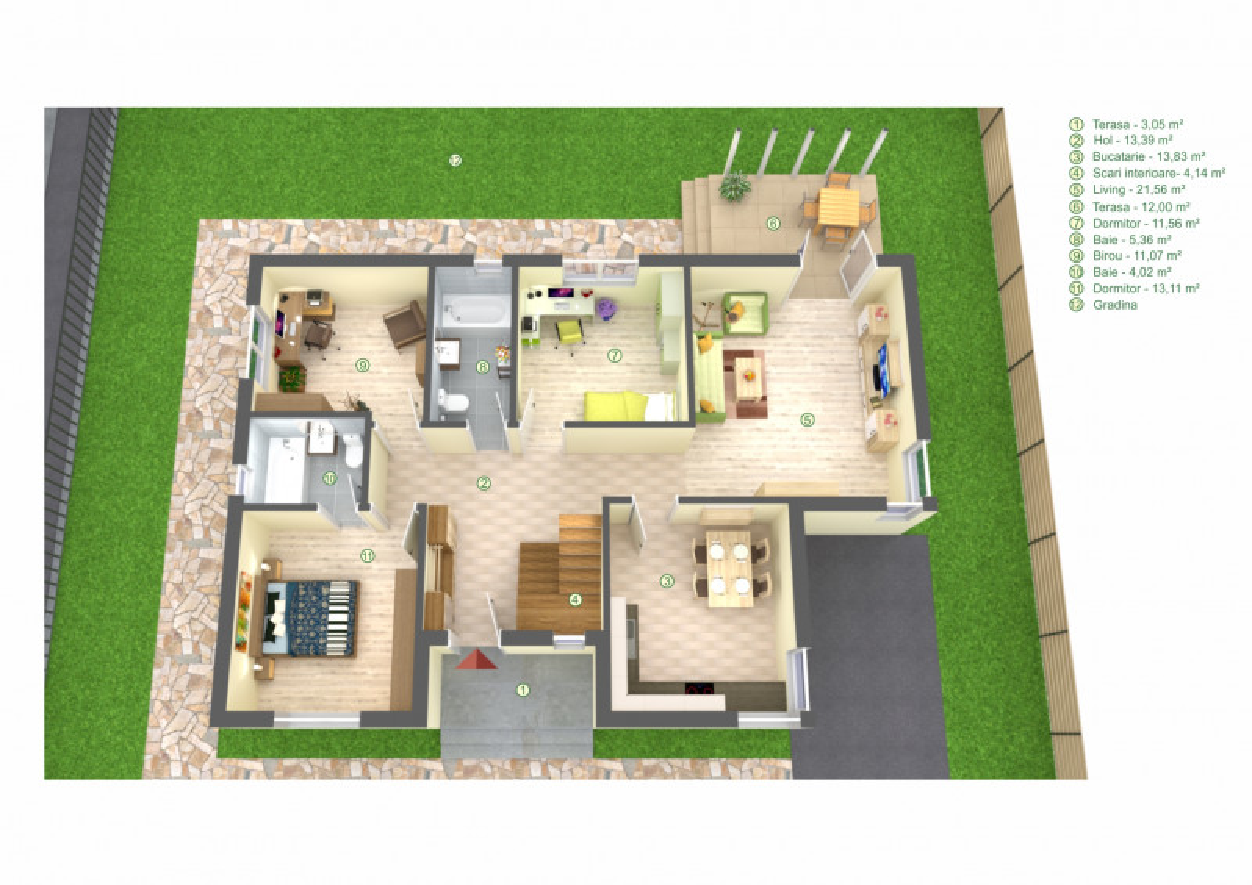Vila noua Cernica - Manastire